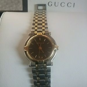 Gucci Watch Two Tone